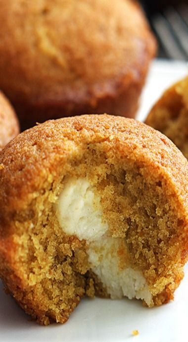 Cream Cheese Pumpkin Muffins Recipe