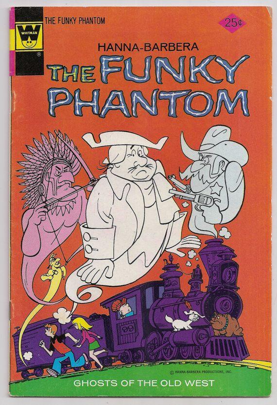 Hanna Barbera The Funky Phantom 11 FN Gold Key by ComicGoRound, $7.95