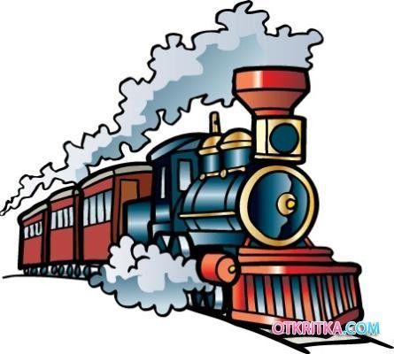 картинки для детей паровоз | Бесплатная графика, Поезд ...