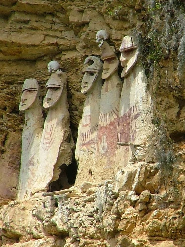 The Chachapoyas, also called the Warriors of the Clouds, was a culture of Andean people living in the cloud forests of the Amazonas Region of present-day Peru. The Incas conquered their civilization shortly before the arrival of the Spanish in Peru.