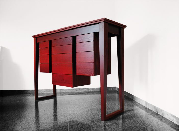 GREGORY / Consolle by Officine Gualandi on www.theinteriordesign.it