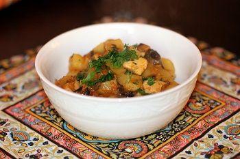 Теплый картофельный салат