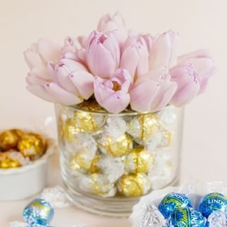 Excellent Wedding Centerpiece Ideas From Featuring Lindt Lindor Truffles With Chocolate Favors