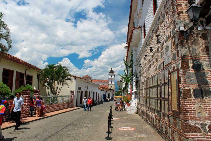 Santa Fe de Antioquia. Noroeste de Colombia.