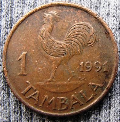 Malawi, 1 tambala, 1991