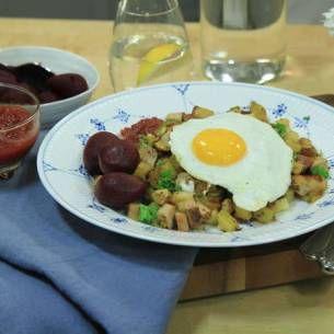 Image for Lisas gårdspytt med stekt ägg