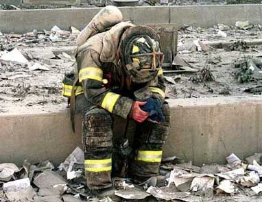 9/11 firefighters and NYPD.: September 11, 9 11 2001, World Trade Center, Firefighters, Fire Fighter, New York, September11, 911 Pictures, Heavy Heart