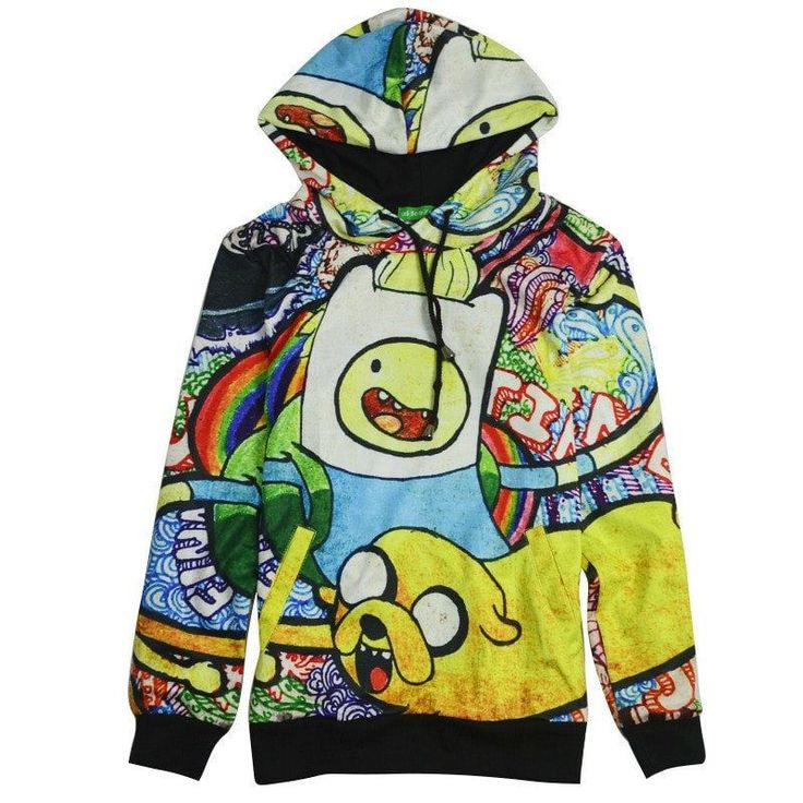 Adventure Time Fleece Hoodie