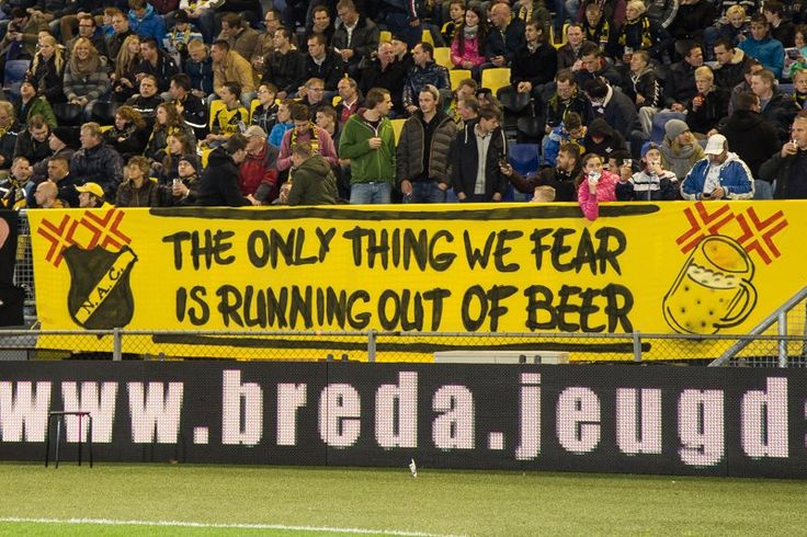 The only thing we fear is running out of beer