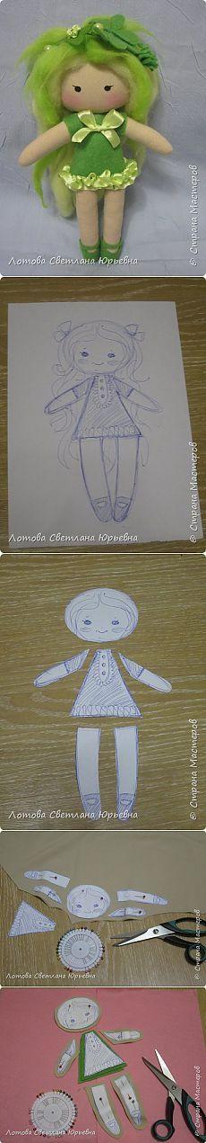 Master - class on making dolls-feechek |  Playmates