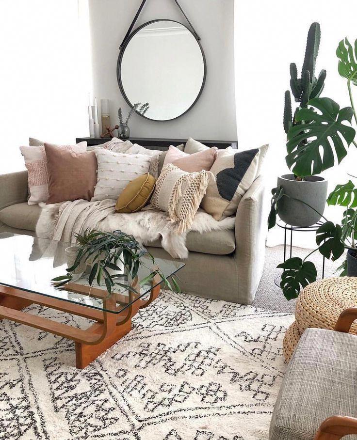 boho wohnzimmer grau in 2020 | Wohnzimmer dekor, Wohnzimmer