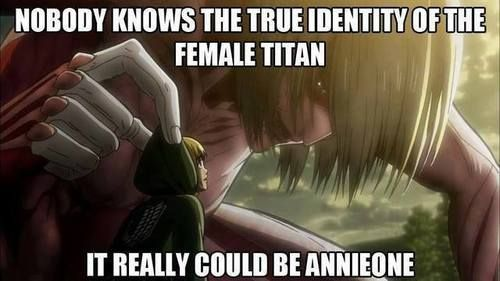 Attack on titan anime humor (spoiler?) bahahahaha that's hilarious