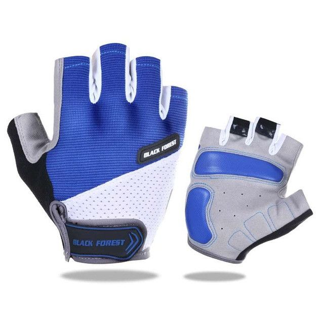 Men Cycling Gloves Half Finger Bicycle Gloves Anti-slip MTB Motorcycle Gloves Guantes Ciclismo Accessories M L XL