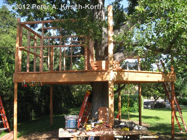Free Standing Tree House Plans 22 best tree house & zip line (for the cottage) images on