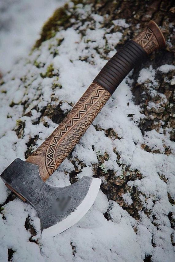 Custom Bearded Viking Axe camp / hunting / by Valkyriecustoms