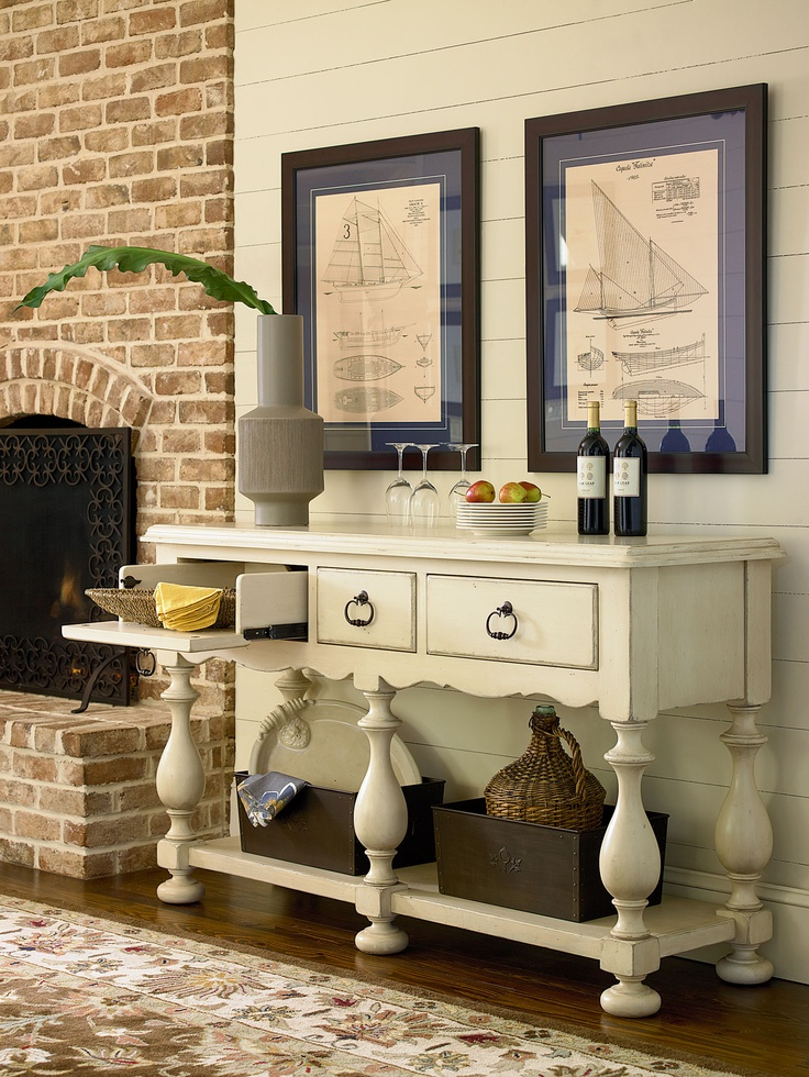 Paula Deen By Universal 394679 Living Room Huntboard   Goodu0027s NC Discount  Furniture Stores And Furniture Outlets