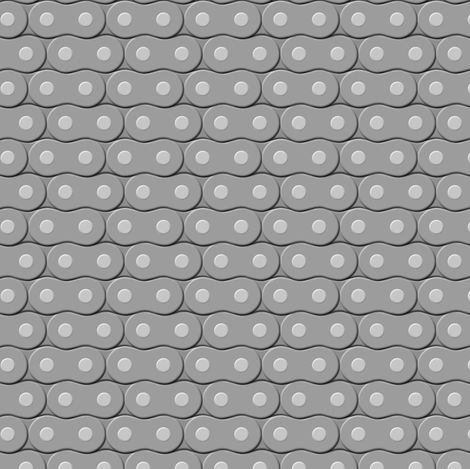 Motorcycle Chain fabric by shelleymade on Spoonflower - custom fabric