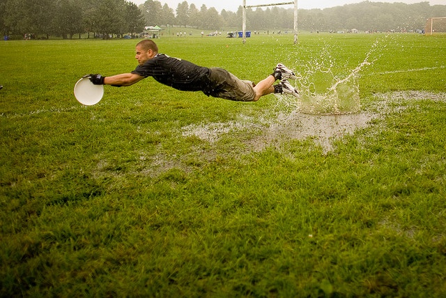 Ultimate in the rain!