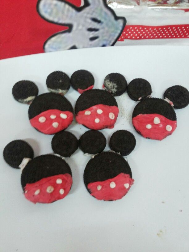 Oreo minnie mouse