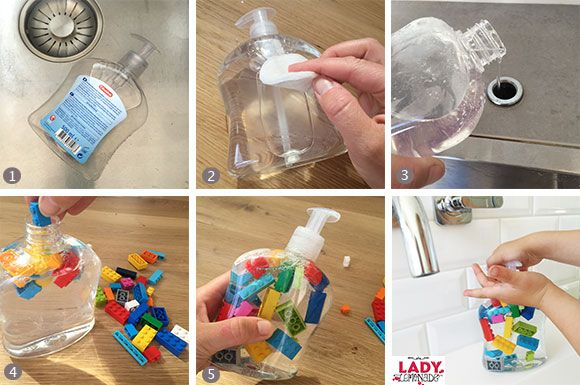 DIY: LEGO zeep - Zo wassen ze hun handen wél! | Lady Lemonade