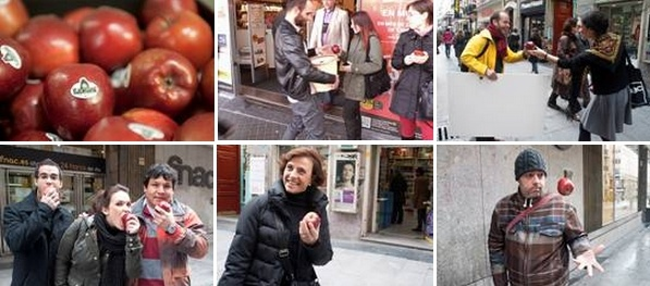 publicidad below the line de Blancanieves ; en http://www.socialetic.com/vamos-a-comernos-los-folletos-de-publicidad-kike-doati.html
