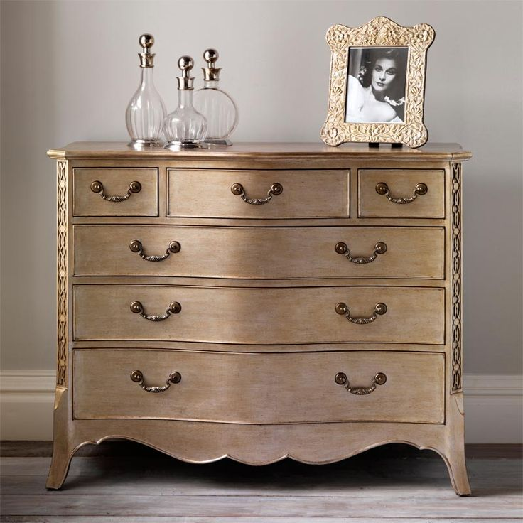 Georgian Silver Leaf Chest Of Drawers Georgian Eclectic Chests Of
