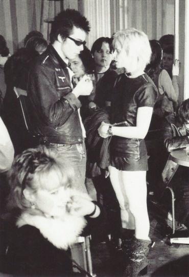 Sid and Vivienne Westwood.