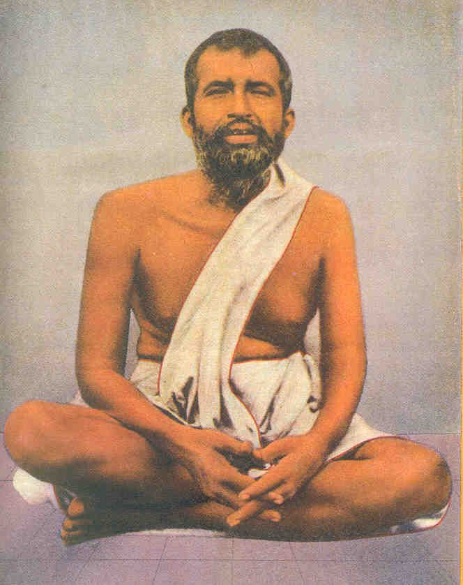 Ramakrishna Parmahamsa, born in 1836 in West Bengal. A bhakti who worshipped Kali, he was frequently in states of divine bliss. Jai Baba! Jai Ma!