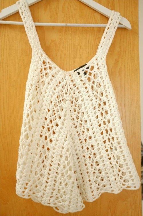 Fashion Me Now - Topshop Crochet Top