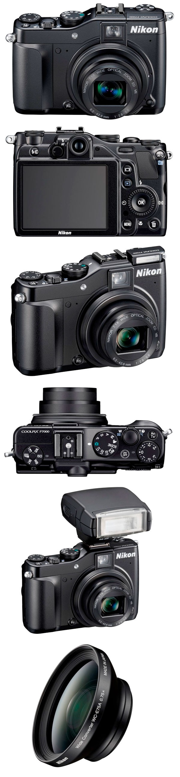 nikon coolpix P7000! $200 cheaper than the comparable P7100, point and shoot option to my DSLR... I NEED YOU.