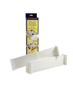dresser top organize dresser and drawer dividers on pinterest. Black Bedroom Furniture Sets. Home Design Ideas
