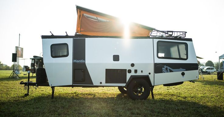 A new lightweight camper from TAXA Outdoors comes with NASA-inspired details and can sleep four adults.