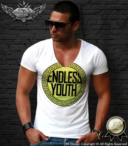 Fashion Mens T-shirt Endless Youth Luxury Unisex RB Design Kenye West MD672