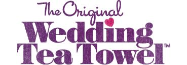 Wedding Tea Towel invites - the unique, unusual wedding invitation