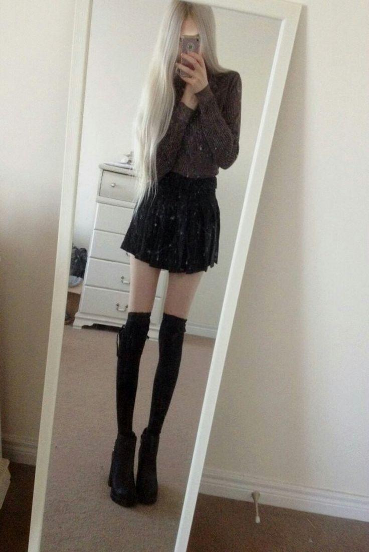 She looks so tall!