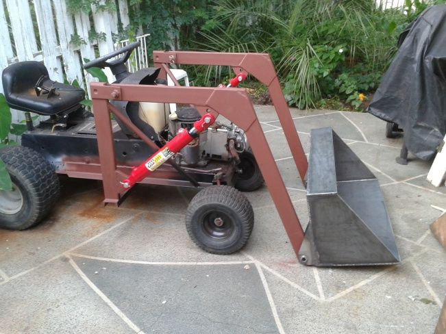 Troy Bilt Lawn Tractor Front Loader Lawn Tractor Tractors Garden Tractor Attachments