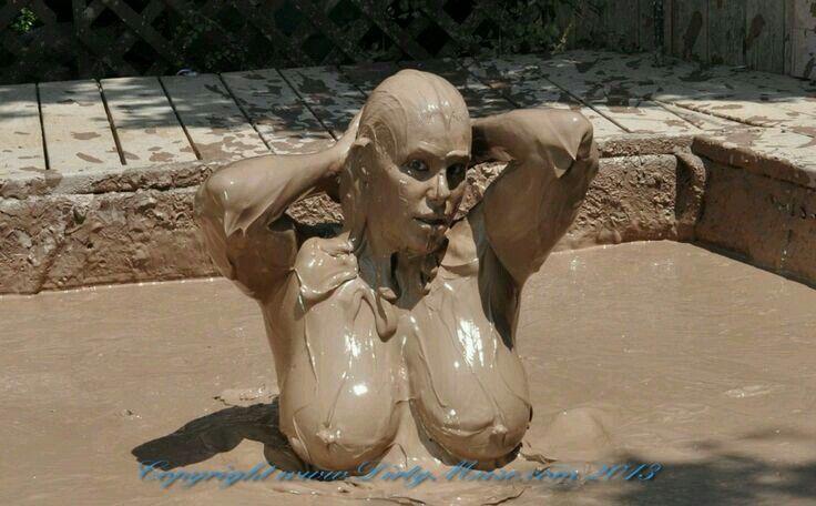 Big brother nude mud wrestling