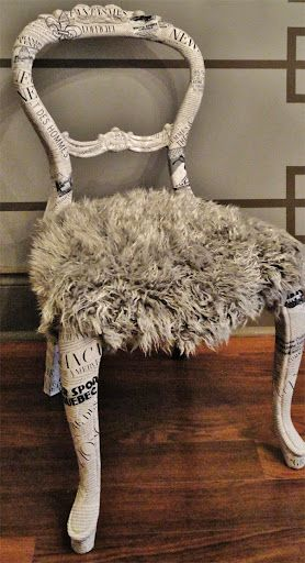 DIY - Decoupage Chair