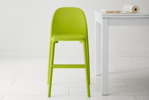 IKEA junior chair - for that in between stage when they're too big for a high chair and too short for a regular dining chair
