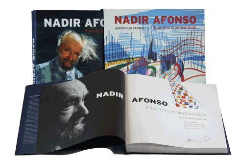 Nadir Afonso, Itinerário (com)sentido de Agostinho Santos.