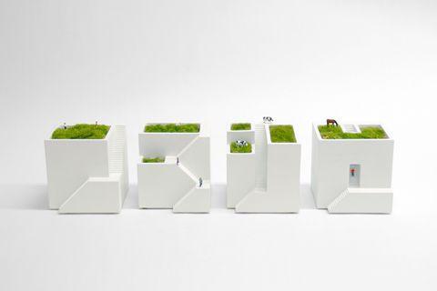 ienami: Desk gardens.