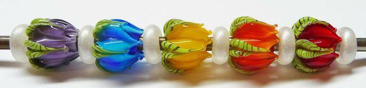 Making Flower Buds A Lampwork Tutorial by Sabrina Koebel of Sabrinadesign Com | eBay