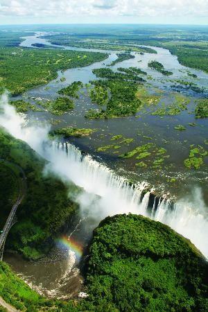 Victoria falls, Zimbabwe, Africa