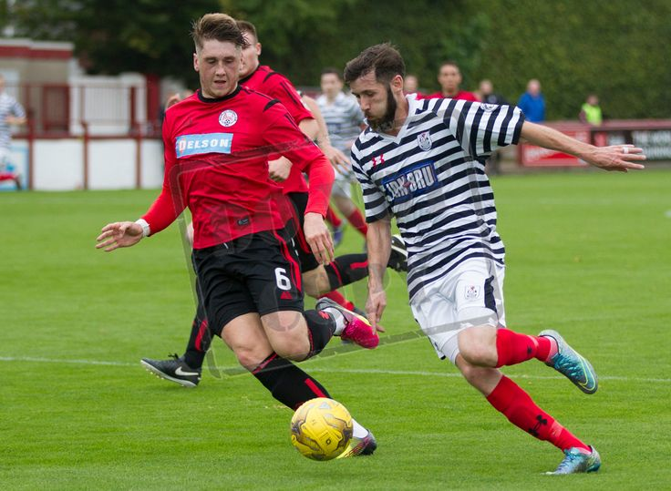 Queen's Park's John Carter in action during the Ladbrokes League One game between Brechin City and Queen's Park.