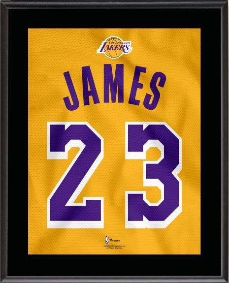 3d0360a9a00 LeBron James Los Angeles Lakers 10.5