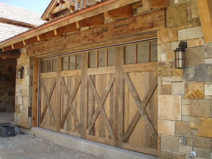 Rafter Stock Garage Door Old Growth Douglas Fir