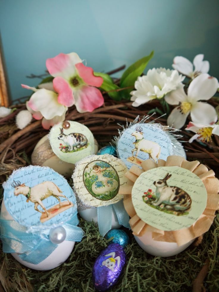 #DIY Hollowed out, filled and decorated #EasterEggs