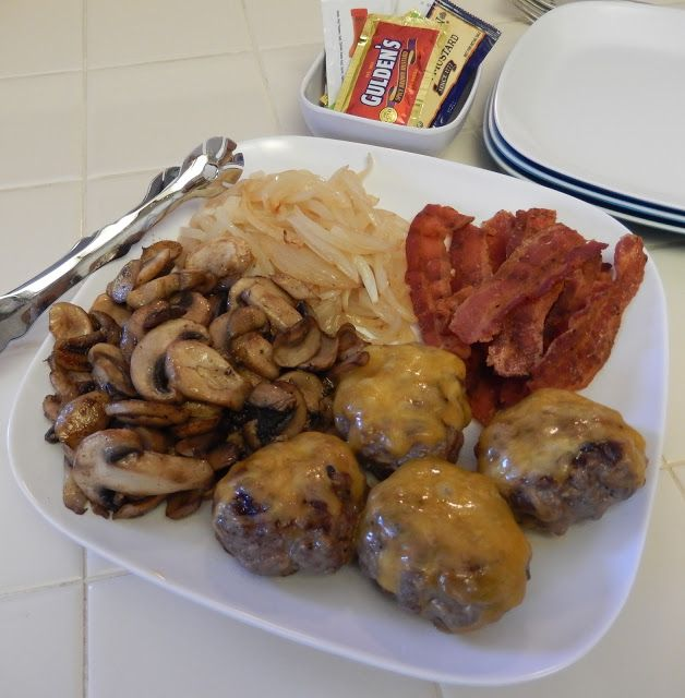 134 best dinner weight loss surgery images on pinterest weight low carb protein packed dinner idea build your own cheeseburger slider bar forumfinder Image collections