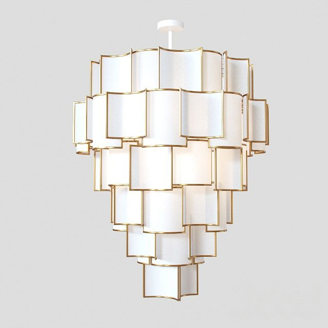 Brassy: A two meter high feature light.