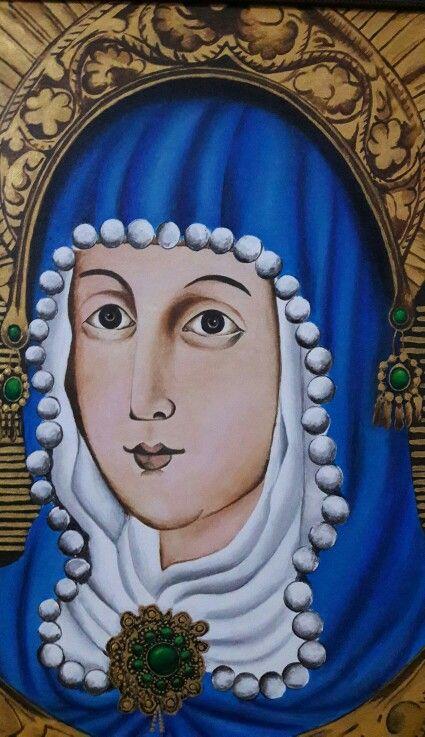 Virgen de la O en Morca. BOYACA en Acrilico por Willan Leon